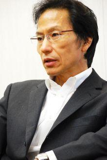 姜尚中氏/前田せいめい撮影