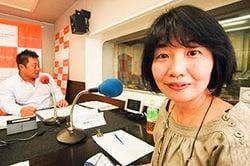 「マット安川のずばり勝負」ゲスト:小国綾子/前田せいめい撮影