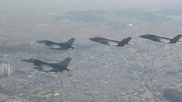 米韓最大の合同空軍演習開始 北朝鮮は反発