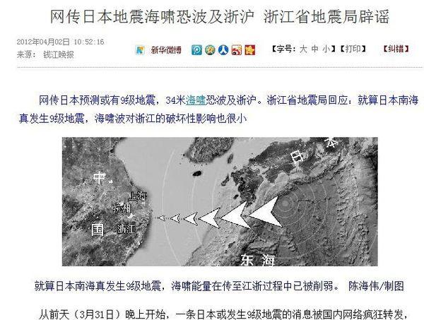 震災後のデータが明かす中国人の対日関心度