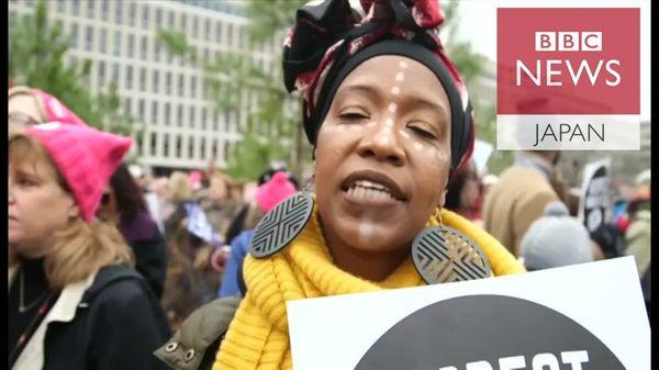 トランプ氏に抗議する人、支持する人 お互いに何を言いたい?