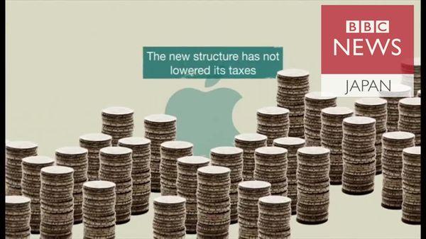 アップルの新たな節税法 パラダイス文書で