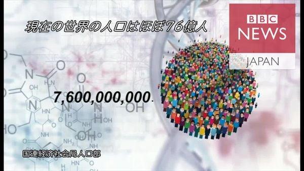 数字で見る世界人口 2100年には112億人に