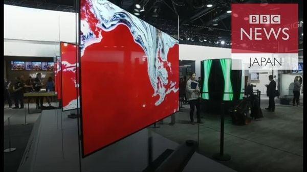 厚さ2.57ミリの超薄型有機ELテレビ、LG電子がCESに出展