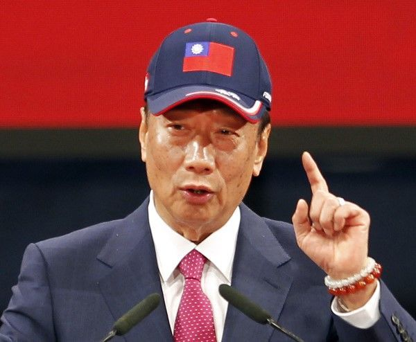 台湾総統選出馬!郭台銘鴻海会長の「大衆熱狂術」