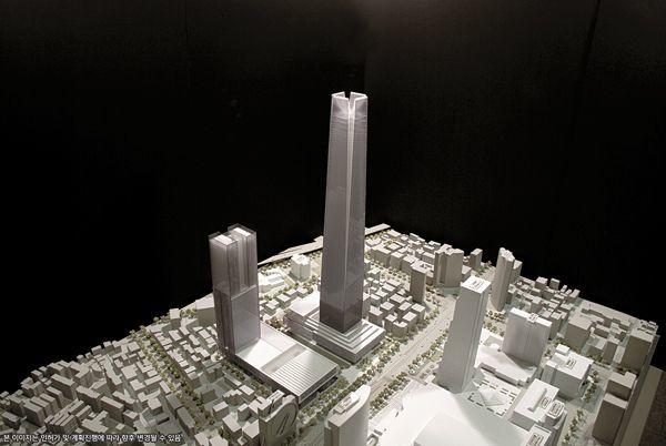 現代自動車、仰天の115階スーパー高層本社計画