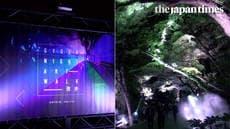 'Gyoen Night Art Walk': A night at a national garden with artistic lights