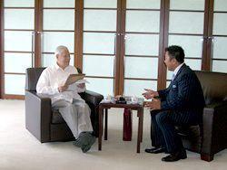 「マット安川のずばり勝負」李登輝、マット安川/オフィスヤスカワ提供