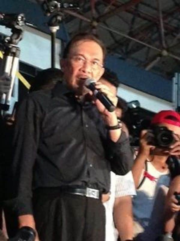 日本入国を拒否されたマレーシアのカリスマ指導者