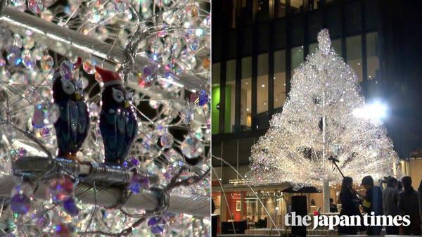 Kioi Winter 2018: Crystal tree sparkles at winter celebration