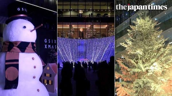 Light Up Tokyo 2017 — Holiday season illuminations in Tokyo