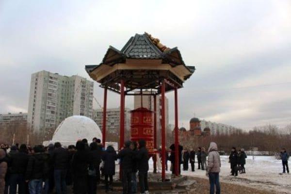 モスクワで初めての仏教寺院建立、その狙いは?