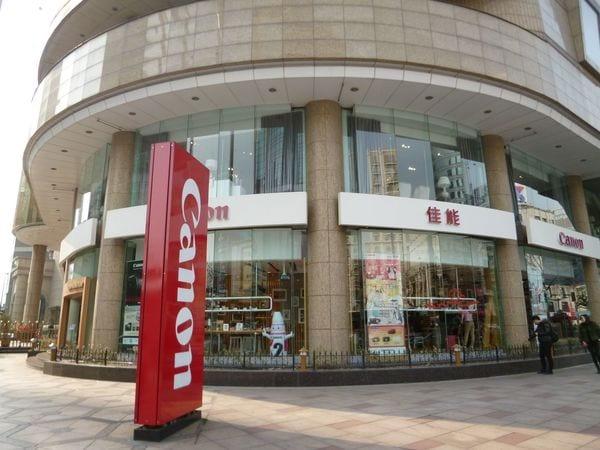 中国でキヤノンの店がお客の心を鷲掴みにする理由