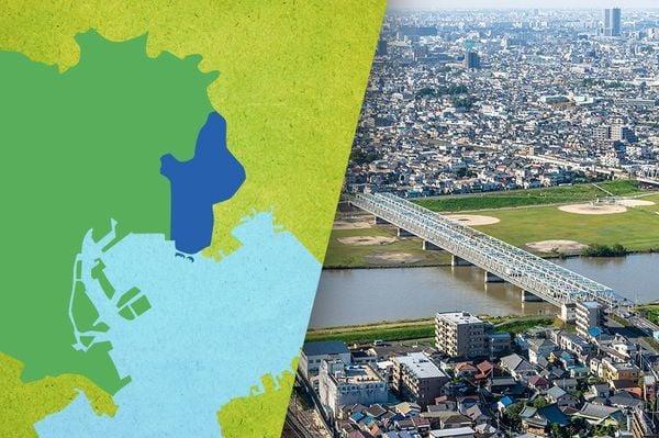 ビジネス街へのアクセス良好。インド人にも好かれる江戸川区|データで見る都市