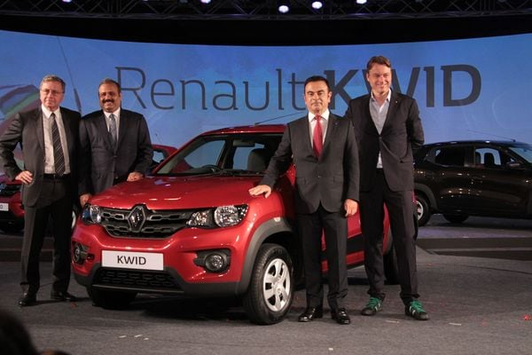 ルノー、インド市場に4700ドルの小型車投入