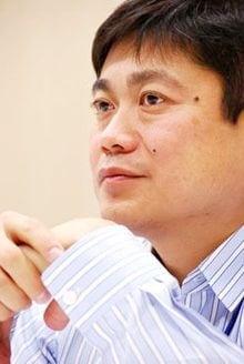 日本人で初めてMITメディアラボ所長に就任した伊藤穣一氏/前田せいめい撮影