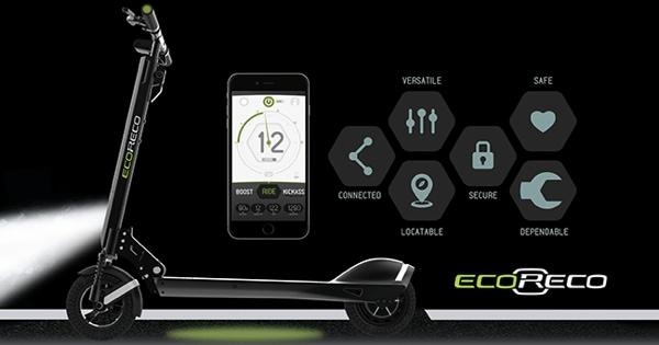 持ち運び可能な電動スクーター!自転車に替わる未来の移動手段になるか?