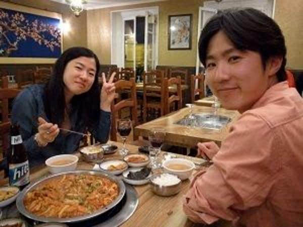 パリの若き韓人たち