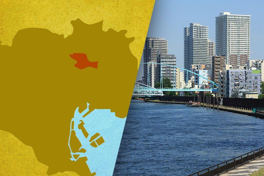 23区で唯一スタバがない荒川区、人口増加のふしぎ|データで見る都市