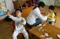 障害のある子供たちのための教育施設が不足 - 中国