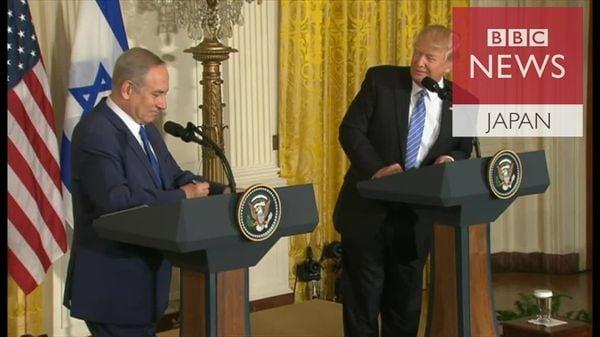 トランプ氏「僕はどちらでも構わない」 中東紛争の解決方法
