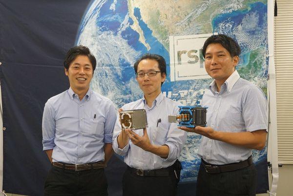 サラリーマンの手作り人工衛星がついに宇宙へ