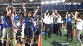 Public viewing of 2018 FIFA World Cup at Tokyo Dome