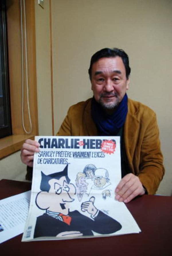 テロリストの蛮行に屈しない世界の漫画家たち