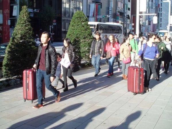 3世代でGO!中国人の日本旅行はこうして大所帯に