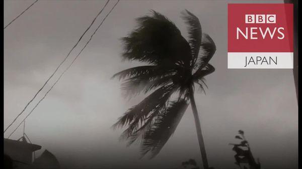 キューバでは波が防波堤越え 「イルマ」