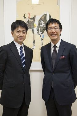 前田 琢磨氏(アイ・エム・エス・ジャパン株式会社)矢作 尚久氏(医師)