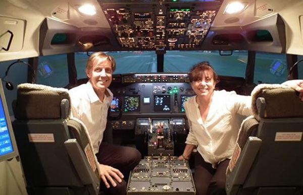 パイロットの世界をリアルに体験