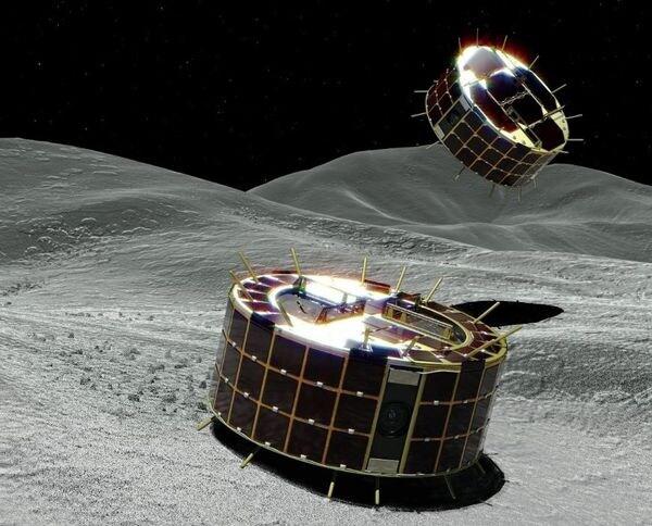 世界初! 小天体上でホップし撮影するミネルバⅡ