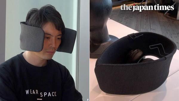 Wear Space: wearable device prototype by Panasonic