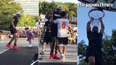 Russell Westbrook visits Japan