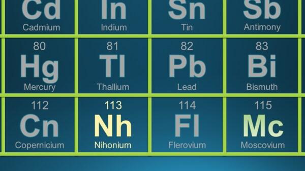 長い挑戦の末にたどり着いた元素「ニホニウム」