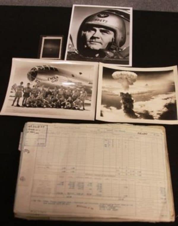 原爆投下記録、NY競売で落札