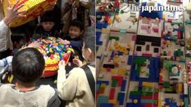 'Breakable Art Gallery' at Shinjuku's Isetan department store