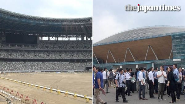 Visiting Tokyo 2020 venues a year before the Olympics