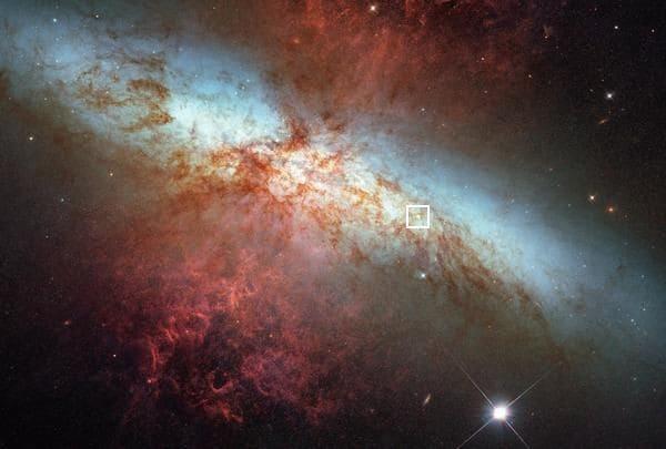 超新星爆発の瞬間を捉えた確率100万分の1の偶然