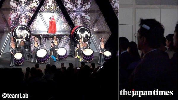 Tokyo drumming show helps overseas tourists and people with hearing disabilities 'feel' the music