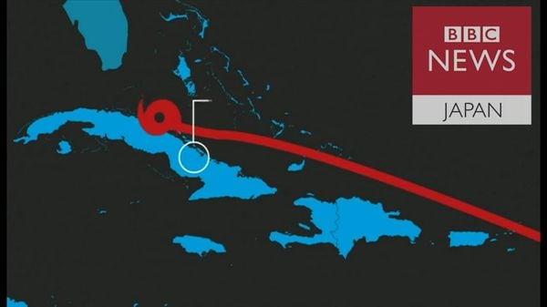 島全体が破壊……「イルマ」の進路をたどる