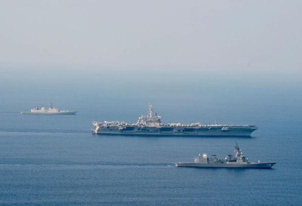 日本の接続水域と領海を航行した中国海軍の狙い