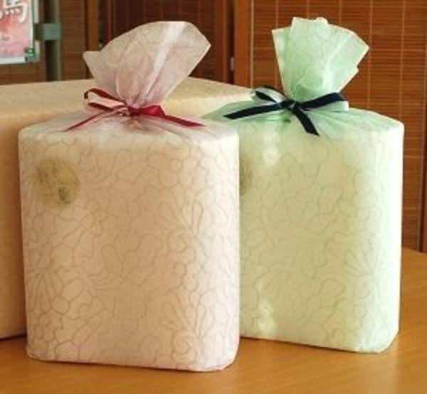 贈り物になる「ふわふわ」トイレットペーパー
