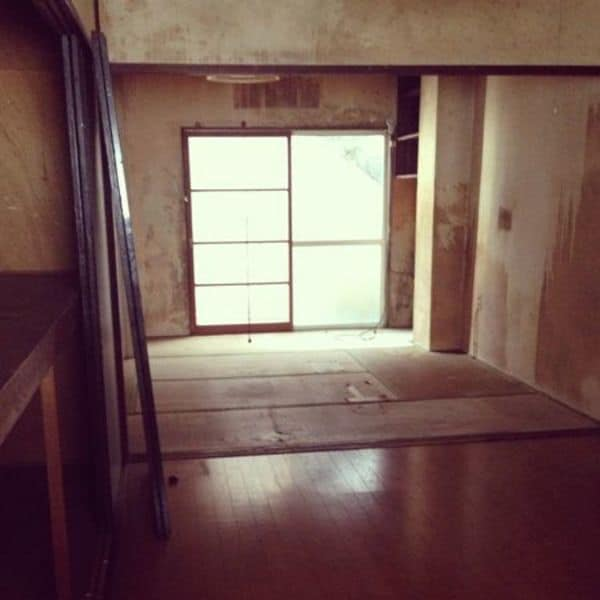 古ぼけた空き家のリフォームで街に新しい息吹を!