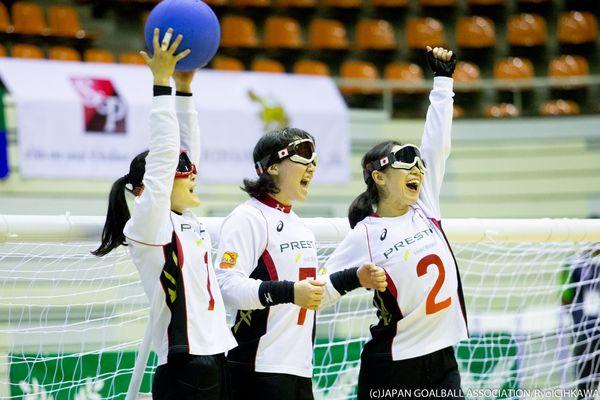ゴールボールで日本女子金メダル、男子も銅メダル