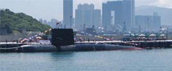 米国に力を見せつけた中国の最新鋭潜水艦