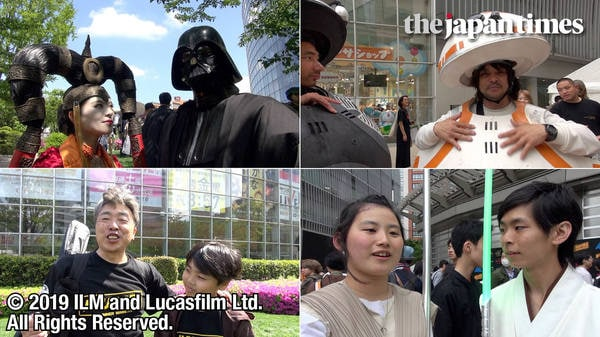 "Voices from Star Wars fans at ""Star Wars Day"" Tokyo 2019"